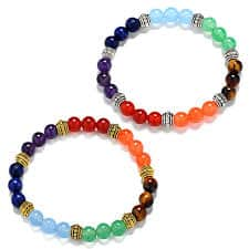 Chakra Stones Bracelet Healing Beads – Powers With Fashion